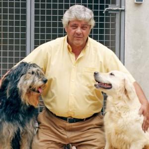 Miguel Díaz con Bell y Lady