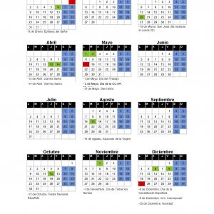 Calendario de apertura de Camada 2017